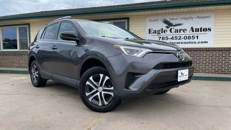 2016 Toyota RAV4 for sale at Eagle Care Autos in Mcpherson KS