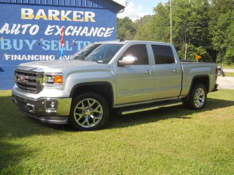 2015 GMC Sierra 1500 for sale at BARKER AUTO EXCHANGE in Spencer IN