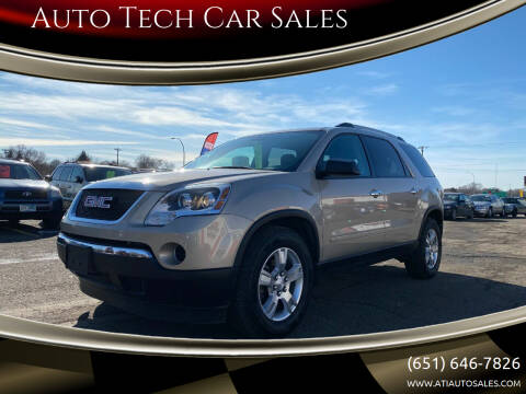 2011 GMC Acadia for sale at Auto Tech Car Sales in Saint Paul MN