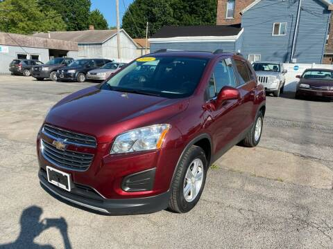 2016 Chevrolet Trax for sale at Midtown Autoworld LLC in Herkimer NY
