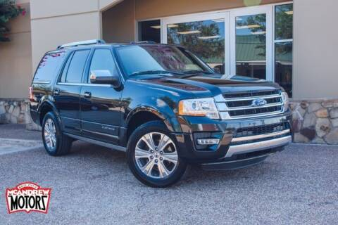 2015 Ford Expedition for sale at Mcandrew Motors in Arlington TX