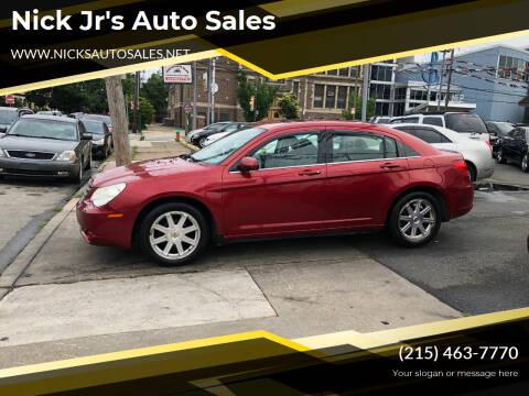 2008 Chrysler Sebring for sale at Nick Jr's Auto Sales in Philadelphia PA