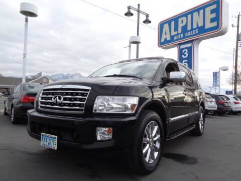 2010 Infiniti QX56 for sale at Alpine Auto Sales in Salt Lake City UT