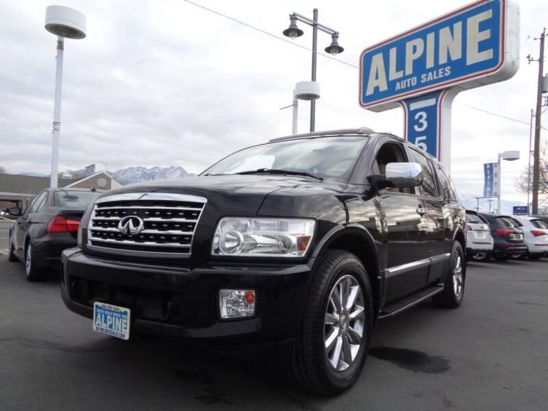 2010 Infiniti QX56 for sale at Alpine Auto Sales in Salt Lake City UT