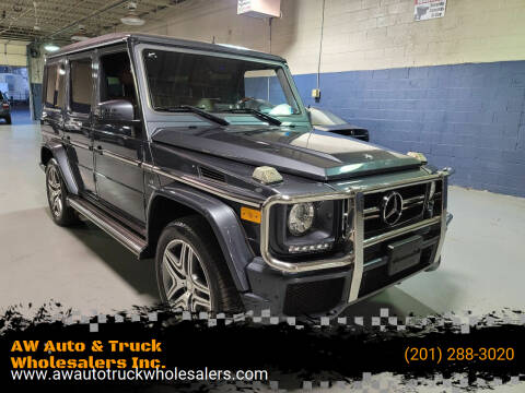 2013 Mercedes-Benz G-Class for sale at AW Auto & Truck Wholesalers  Inc. in Hasbrouck Heights NJ