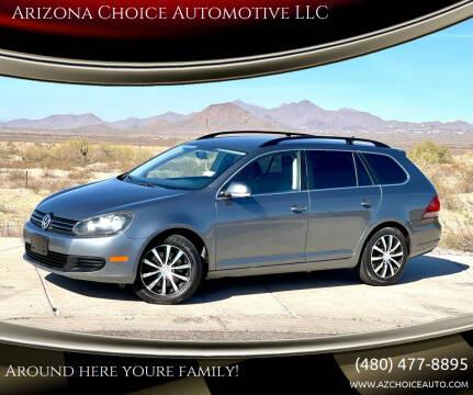 2010 Volkswagen Jetta for sale at Arizona Choice Automotive LLC in Mesa AZ