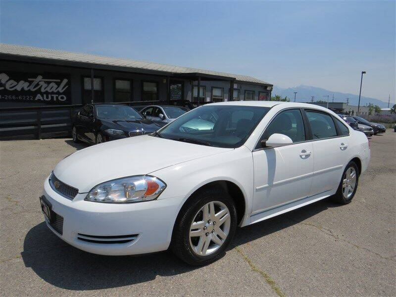 2016 Chevrolet Impala Limited for sale at Central Auto in South Salt Lake UT