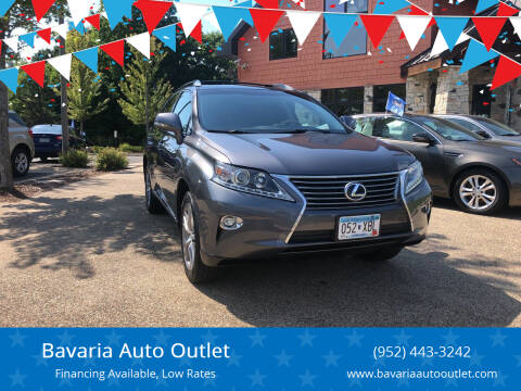 2015 Lexus RX 450h for sale at Bavaria Auto Outlet in Victoria MN