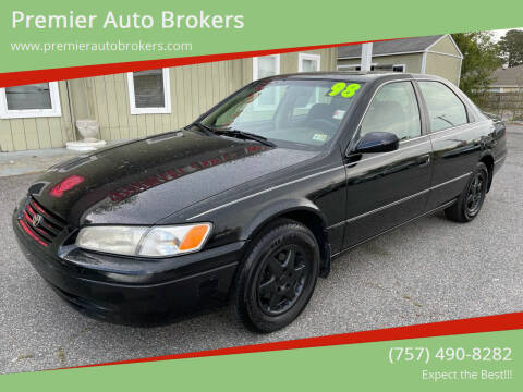 1998 Toyota Camry for sale at Premier Auto Brokers in Virginia Beach VA