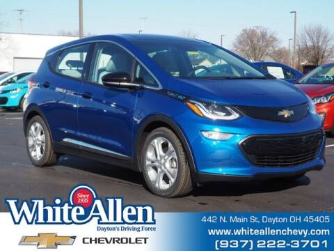 2021 Chevrolet Bolt EV for sale at WHITE-ALLEN CHEVROLET in Dayton OH