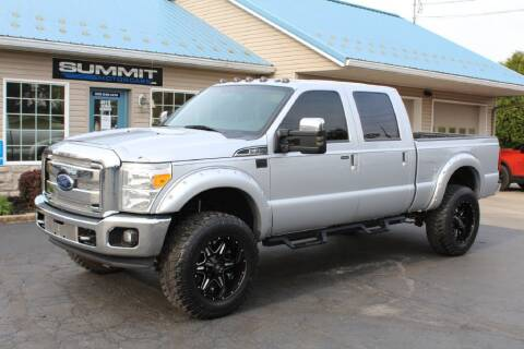 2014 Ford F-350 Super Duty for sale at Summit Motorcars in Wooster OH