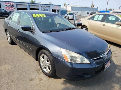 2007 Honda Accord for sale at Primo Auto Sales in Merced CA