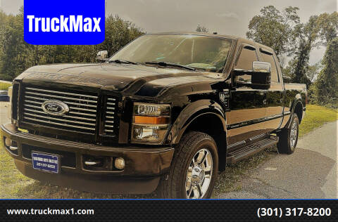 2008 Ford F-350 Super Duty for sale at TruckMax in N. Laurel MD
