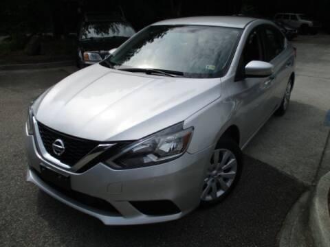 2018 Nissan Sentra for sale at Elite Auto Wholesale in Midlothian VA
