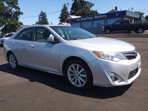 2012 Toyota Camry for sale at All American Motors in Tacoma WA