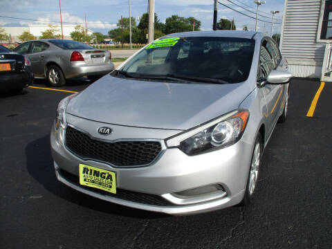 2014 Kia Forte for sale at Ringa Auto Sales in Arlington Heights IL