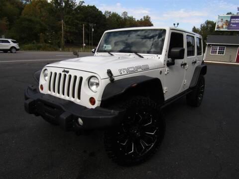 2013 Jeep Wrangler Unlimited for sale at Guarantee Automaxx in Stafford VA