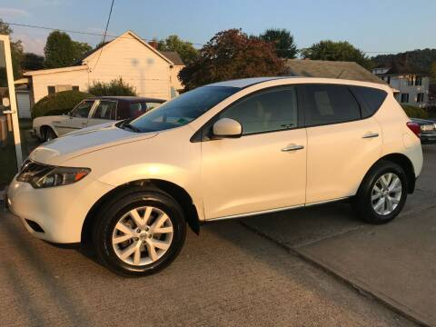 2012 Nissan Murano for sale at DALE'S PREOWNED AUTO SALES INC in Moundsville WV