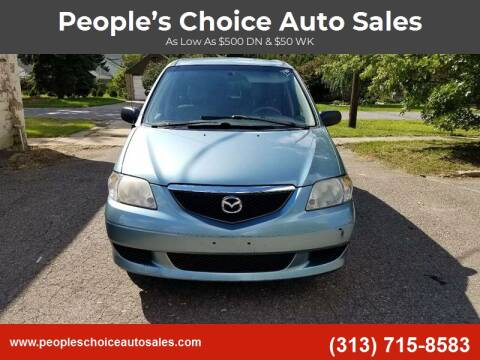 2003 Mazda MPV for sale at People's Choice Auto Sales in Taylor MI
