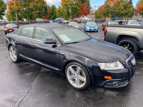 2011 Audi A6 for sale at Pacific Point Auto Sales in Lakewood WA