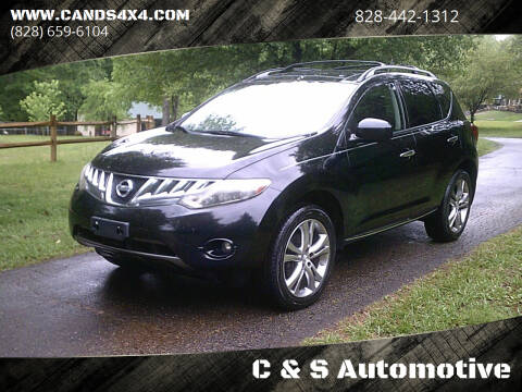 2010 Nissan Murano for sale at C & S Automotive in Nebo NC