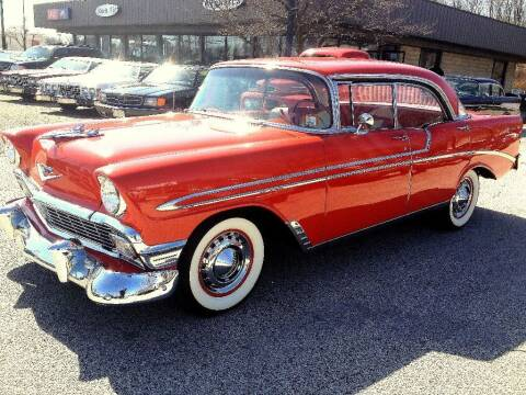 1956 Chevrolet Bel Air for sale at Black Tie Classics in Stratford NJ