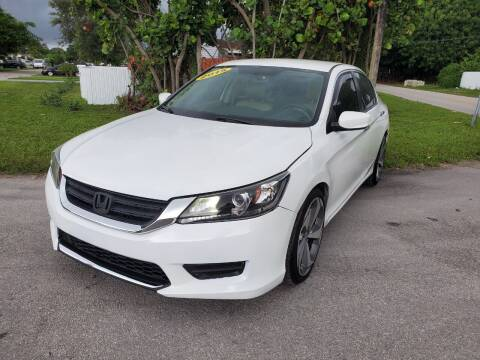2015 Honda Accord for sale at A Group Auto Brokers LLc in Opa-Locka FL