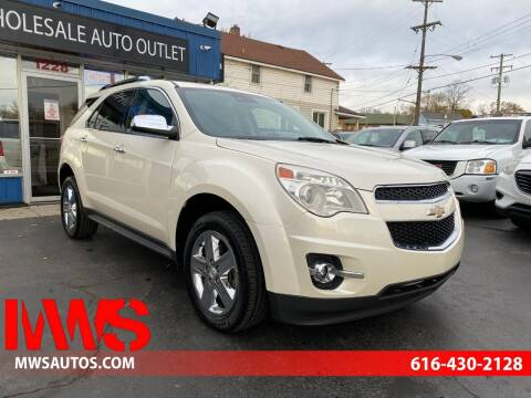 2014 Chevrolet Equinox for sale at MWS Wholesale  Auto Outlet in Grand Rapids MI
