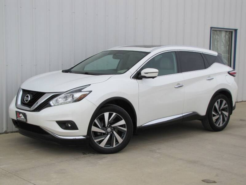 2015 Nissan Murano for sale at Lyman Auto in Griswold IA