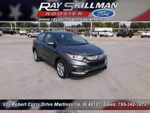 2019 Honda HR-V for sale at Ray Skillman Hoosier Ford in Martinsville IN