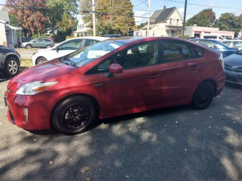 2015 Toyota Prius for sale at Good Works Auto Sales INC in Ashland MA