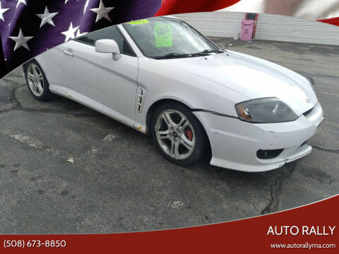 2005 Hyundai Tiburon for sale at Auto Rally in Fall River MA