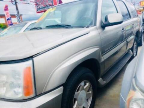 2002 Cadillac Escalade for sale at Top Notch Auto Sales in San Jose CA