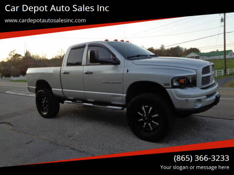 2003 Dodge Ram Pickup 2500 for sale at Car Depot Auto Sales Inc in Seymour TN
