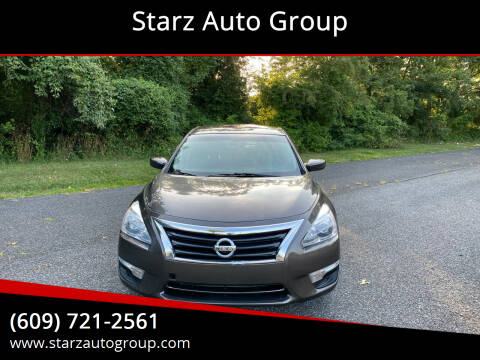2013 Nissan Altima for sale at Starz Auto Group in Delran NJ