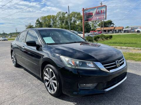 2015 Honda Accord for sale at Albi Auto Sales LLC in Louisville KY
