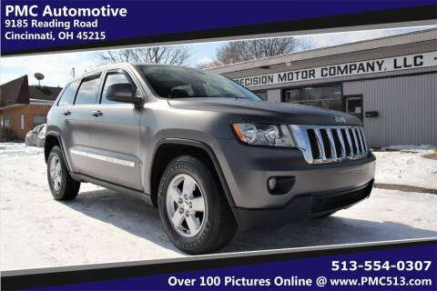 2011 Jeep Grand Cherokee for sale at PMC Automotive in Cincinnati OH