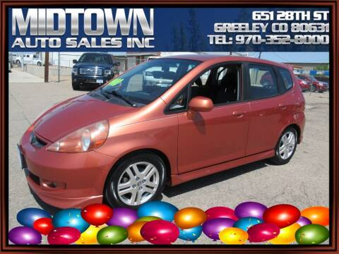 2008 Honda Fit for sale at MIDTOWN AUTO SALES INC in Greeley CO