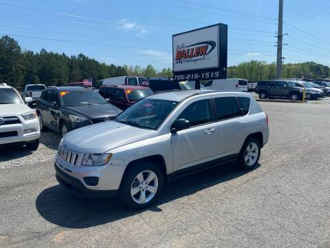 2011 Jeep Compass for sale at Billy Ballew Motorsports in Dawsonville GA