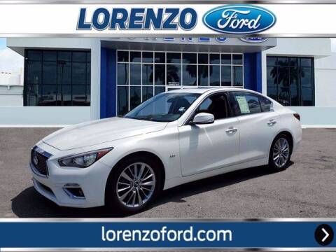 2018 Infiniti Q50 for sale at Lorenzo Ford in Homestead FL