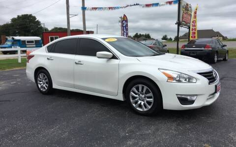 2013 Nissan Altima for sale at Towell & Sons Auto Sales in Manila AR