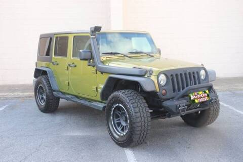 2007 Jeep Wrangler Unlimited for sale at El Patron Trucks in Norcross GA