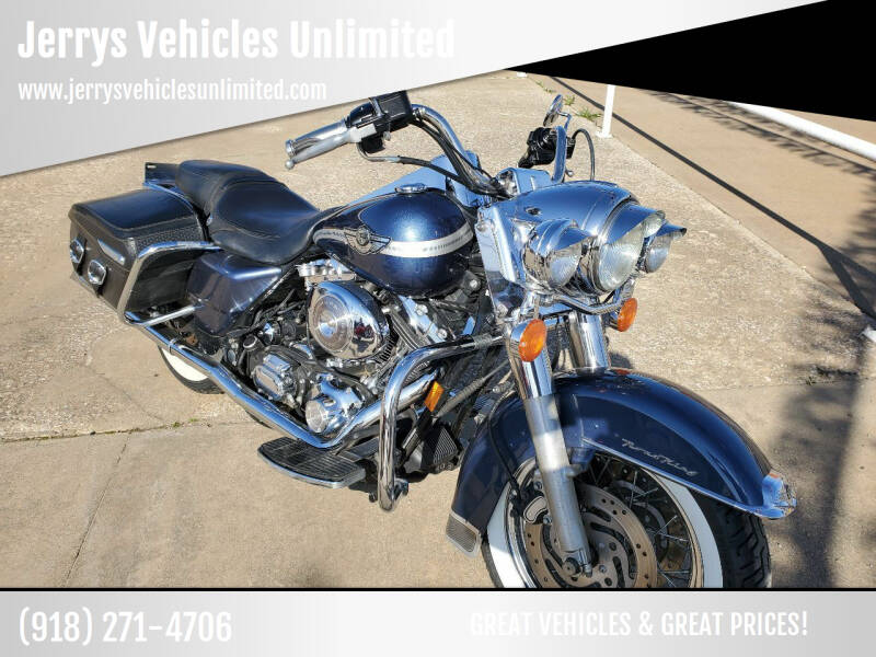 2003 Harley  Roadking  for sale at Jerrys Vehicles Unlimited in Okemah OK