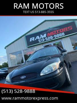 2007 Ford Taurus for sale at RAM MOTORS in Cincinnati OH
