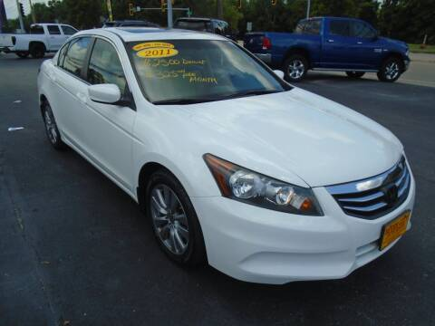 2011 Honda Accord for sale at River City Auto Sales in Cottage Hills IL