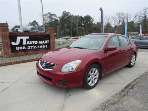 2008 Nissan Maxima for sale at J T Auto Group in Sanford NC