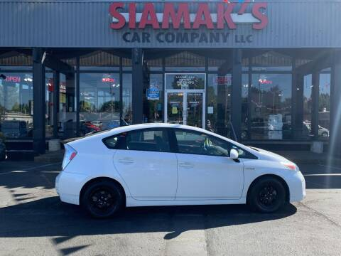 2013 Toyota Prius for sale at Siamak's Car Company llc in Salem OR