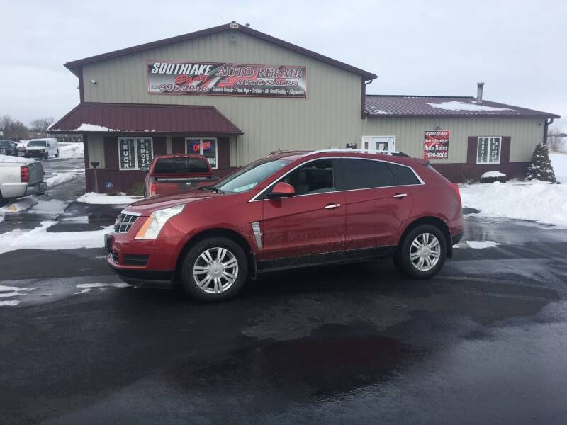 2012 Cadillac SRX for sale at Southlake Body Auto Repair & Auto Sales in Hebron IN