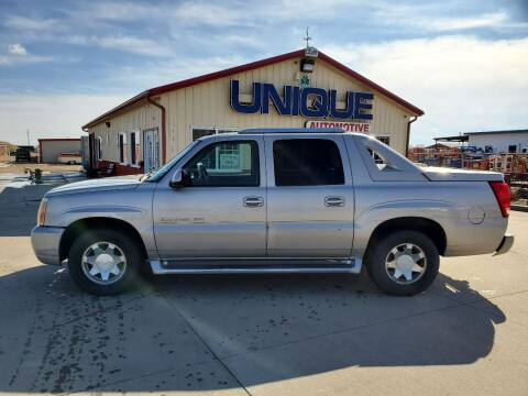 "2004 Cadillac Escalade EXT for sale at UNIQUE AUTOMOTIVE ""BE UNIQUE"" in Garden City KS"