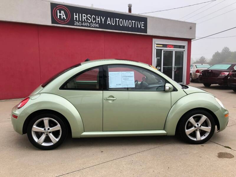 2006 Volkswagen New Beetle for sale at Hirschy Automotive in Fort Wayne IN